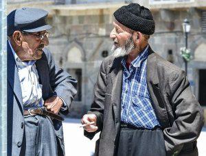 2 old mans talking