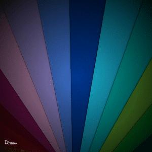 מגוון צבעים על רקע כהה