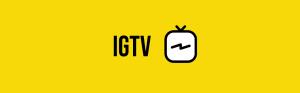 אייקון IGTV אינסטגרם
